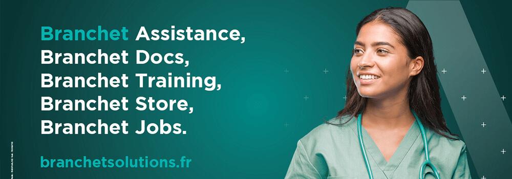 les services Branchet solutions : assistance docs training store et jobs