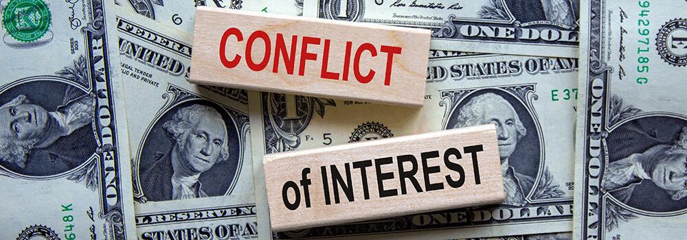 conflit d'intérêts